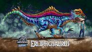 Erliphosaurus and Owen Grady by Daniel Wing zero