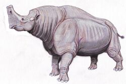 Embolotherium andrewsi by dibgd-d2ll5li