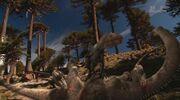 When Dinosaurs Roamed America Allosaurus and Apatosaurus