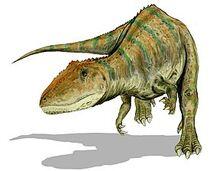 275px-Carcharodontosaurus BW