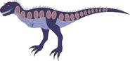 Prehistoric world rajasaurus by daizua123-da6v2te