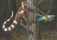 Sinosauropteryx prima by alexanderlovegrove-d8v76tf