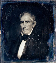 William Henry Harrison daguerreotype