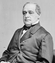 Hannibal Hamlin, photo portrait seated, c1860-65