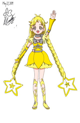 Cure Star from fanfic Pretty Cure Cosmos Year 2014