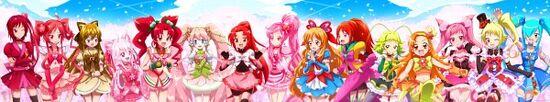 Pretty Cure fanseries
