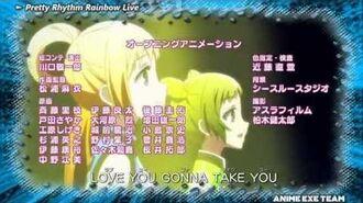 Pretty Rhythm Rainbow Live OP 3 (2013 Fall)