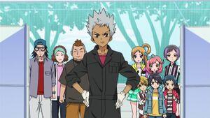 Kazuki confronts Edel Rose