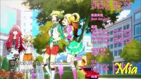 Pretty Rhythm Rainbow Live - Ending 3 - 「I wannabee myself!!~自分らしくいたい!~」