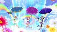 Happy Rain Prism Jump