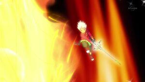 Burning Sword Breaker