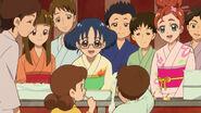 Haruka y Yui cocinando