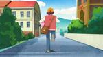 KKPCALM09 Tatsumi runs off to give Midori cookies