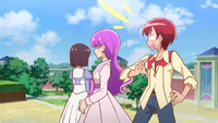 PCDS Yukari fits right in with the Noble Academy girls