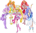 Hugtto Movie Dokidoki Team
