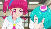 STPC37 Hikaru asks Lala what she's looking at