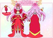 Cure Scarlet Modo Elegante