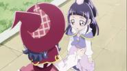 Liz gave Riko her Dia Linkle Stone