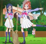 Haruka and Yui balette panorama
