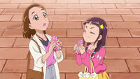 MTPC50 Mayumi and Kana with some bread