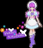 Perfil de Yukari como pastelera (TV Asahi)