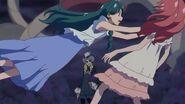 Minami salvando a Towa