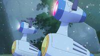 STPC44 Reindeer Bot's lights turn on