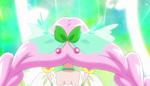 Back of Hair Leaf Bow Appears Felice
