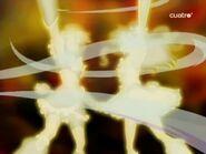 Futari wa Golden Storm in the last episode