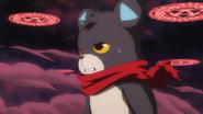Kumata espantado al ver lo que sucedio con su magia