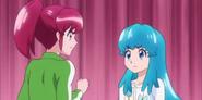 Megumi y Hime discutiendo