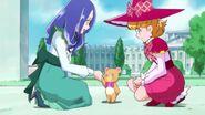 Mofurun presentandose con Liz