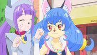STPC37 Madoka and Yuni interacting