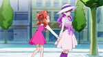 KKPCALM05 Ichika asks Yukari if she could make macarons with her