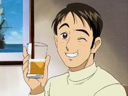 Takeshi agradece nagisa