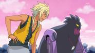 HuPC02.73-Charaleet y su Oshimaida observando a Cure Yell y Ange