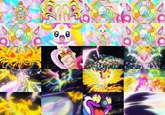 Royale Rainbow Burst Collage