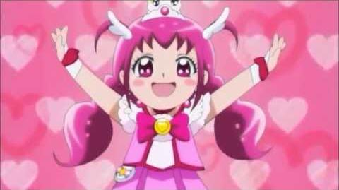 ¡Ducha Feliz Pretty Cure!