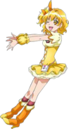 Cure Pine en All Stars New Stage 3