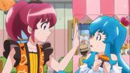 Megumi detiene a Hime
