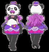 Perfil macaron panda
