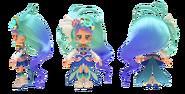 Perfiles de Chibi Cure Mermaidw
