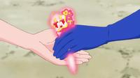 STPC21 Blue Cat gives Hikaru the Aries Princess Star Color Pen