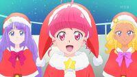 STPC44 Hikaru looks at Fuwa happily