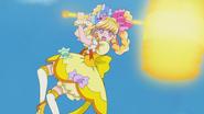 Miracle goes in to hammer the Yokubaru