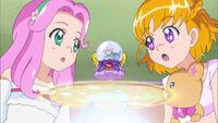 Mirai, Kotoha are schoked by what Kochou said