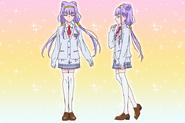 Ruru Amour-profile-uniform-Toei