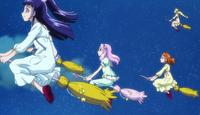 (47) The girls flying