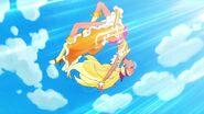 Cure Soleil peleando