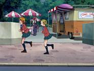 Nagisa hikari corren colegio